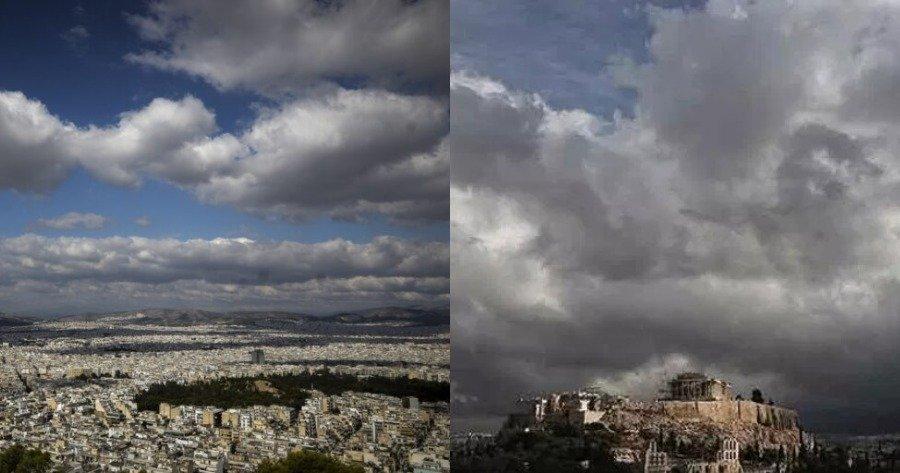 Πρόγνωση καιρού: Νεφώσεις με βροχές τη Δευτέρα 1 Μαρτίου