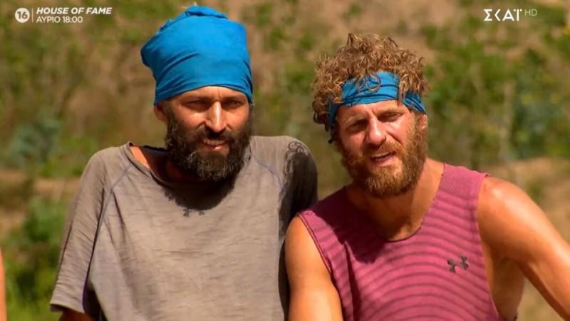 Survivor 4: Το Twitter «έκλαψε» με τον Κρις και τον Άλεξ – «Ο χασοδίκης κέρδισε τη δίκη σήμερα»