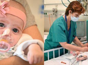 Κέρδισε την ζωή: Κοριτσάκι 2 μηνών σώθηκε χάρη σε μια πρωτοποριακή μεταμόσχευση καρδιάς