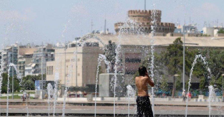 Μέτρα για τις υψηλές θερμοκρασίες από Δήμο Θεσσαλονίκης και Πειραιά