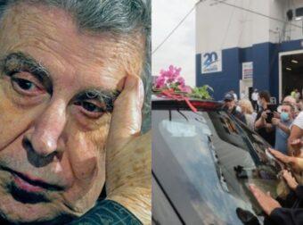 """Μίκης Θεοδωράκης: Σάλπαρε για Χανιά η σορός, Ρίγη συγκίνησης υπό του ήχους της """"δικαιοσύνης Ήλιε Νοητέ"""""""